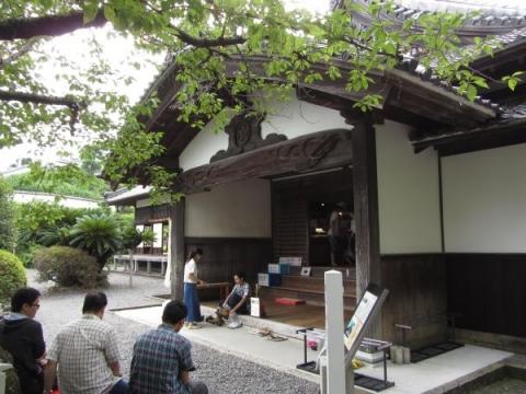 二の丸御殿・玄関