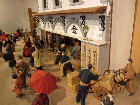 旧金森洋物店模型