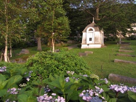外国人(ロシア人)墓地
