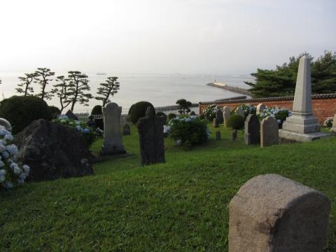 外国人(プロテスタント)墓地