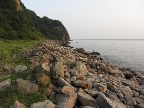 函館山の海岸側