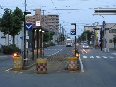 函館どつく前停留所