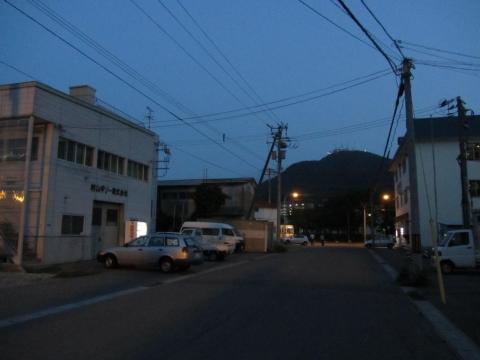 弁天台場跡より望む函館山