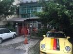 台北市内では珍しい車が停められるスペースが