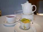 ヨーグルトとお茶