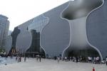 落成した台中国家歌劇院