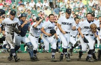 絵日記8・18野球準々決勝1