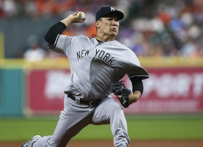 Masahiro Tanaka couldnt get a feel for his splitter