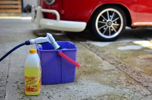 洗車 洗車道具 バケツ 洗う
