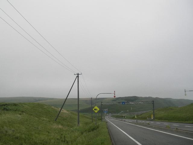 宗谷岬へ向かう国道238号線2015