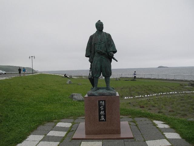間宮林蔵銅像215