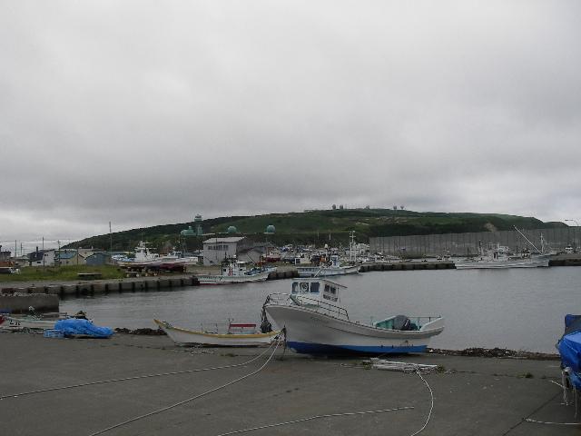 ノシャップの漁港2015