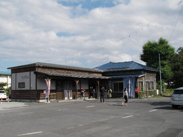増毛駅2015-1