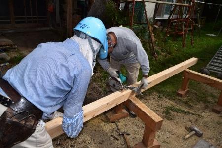 平成28年度作州津山商工会久米地区工業部家屋補修ボランティア津山市社会福祉協議会