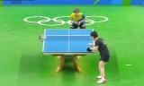 馮天薇VSシャーリエン(女シングル3回戦)リオ五輪2016