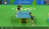女子団体準決勝(日本VSドイツ)第2試合(石川佳純)