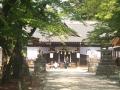 上田城跡公園内の真田神社