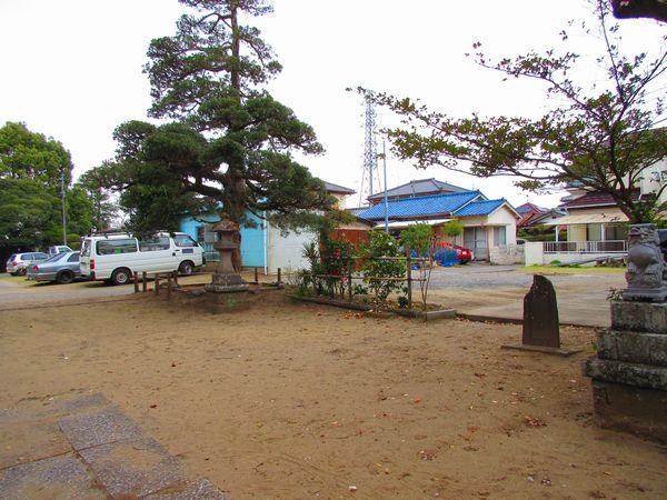 白幡神社メイン施工前