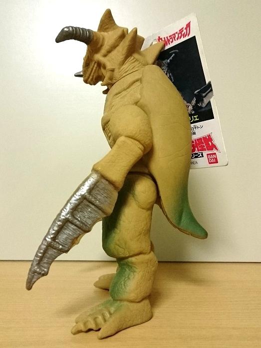 ウルトラマンティガ怪獣ソフビ ジョバリエ1