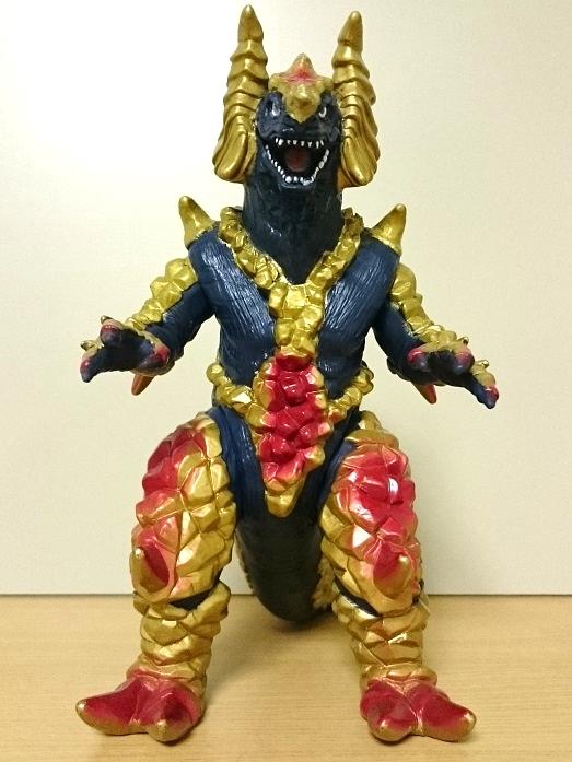 ウルトラマンティガ怪獣ソフビ ゴルドラス0