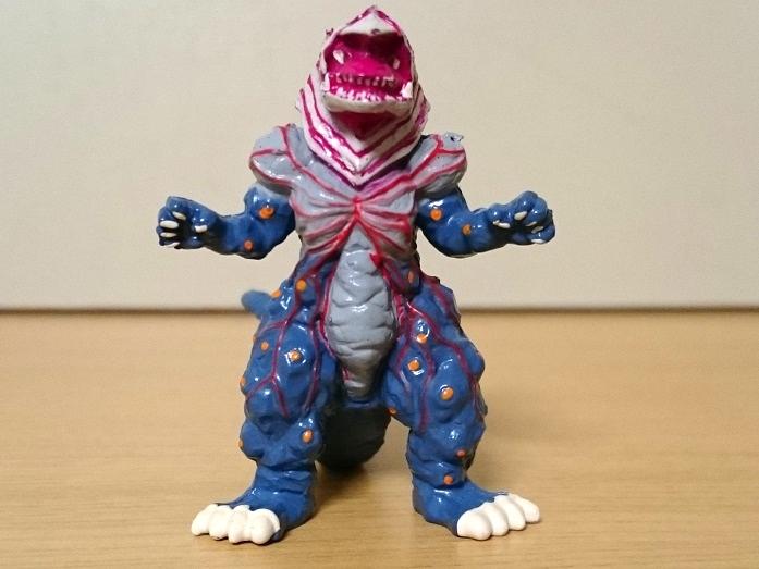 ウルトラマンティガ怪獣 ティガモンスター超全集 ゴルザ(強化)