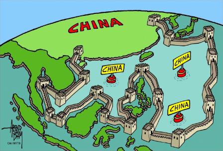 中国海洋進出