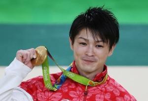 内村 金メダル