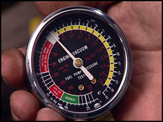 小さい負圧計