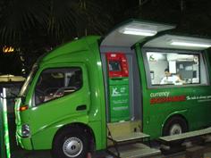 タイの移動銀行窓口車1