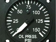 油温計の表示