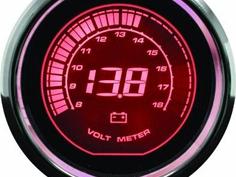 赤い電圧計