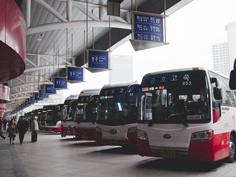 海外のバスターミナル