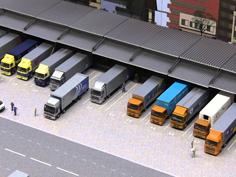 大規模のトラックターミナル