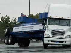 トラックの姿勢安定