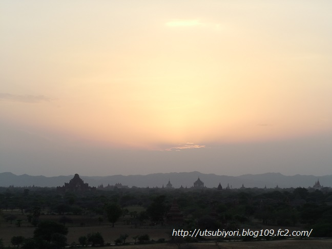 Bagan sunset1
