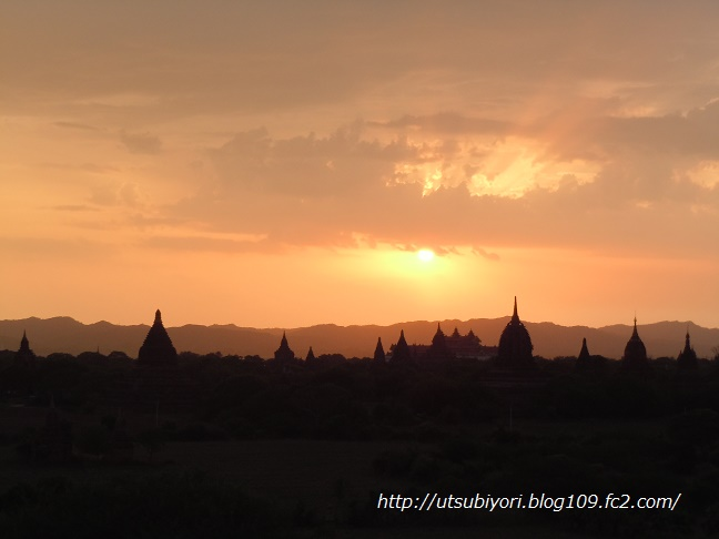 Bagan sunset 2