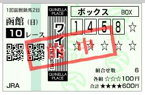 函館10R