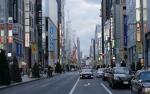 中央通り:銀座:薄暮光景-01D 1607qt