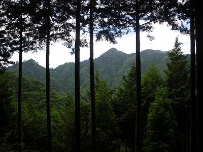 御岳山方面