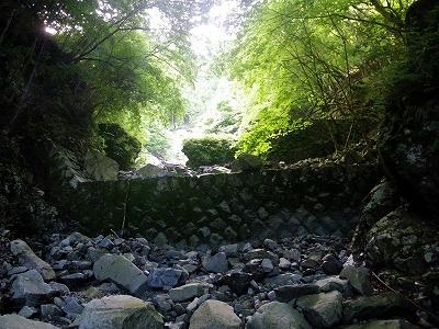 四つ目の堰堤