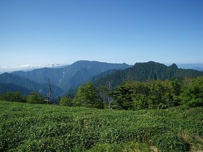 稲村ヶ岳と弥山