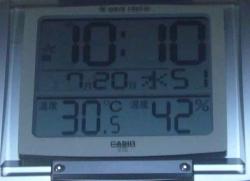 室温が30℃超-1