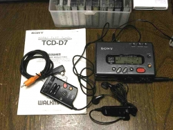 ポータブルDAT SONY TCD-D7