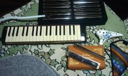 ハーモニカ&鍵盤ハーモニカ&オカリナ