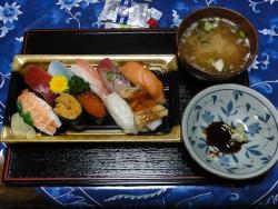 寿司20160430夕食