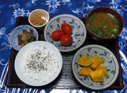 ありもので夕食20160907