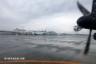 鹿児島空港、到着