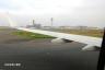 羽田空港着陸