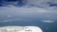 空撮1、朝日連峰と月山