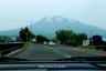 岩木山(車窓から)